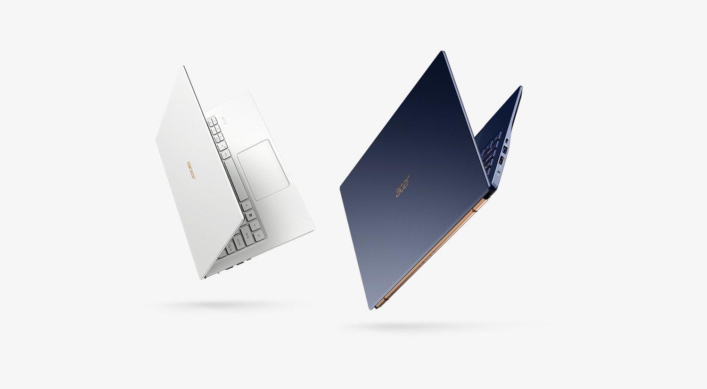 El Acer Swift 5 es el más ligero del mercado.
