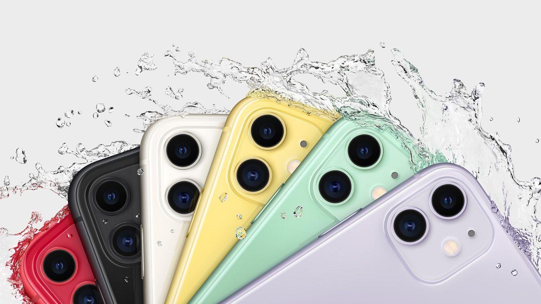 Los colores del iPhone 11