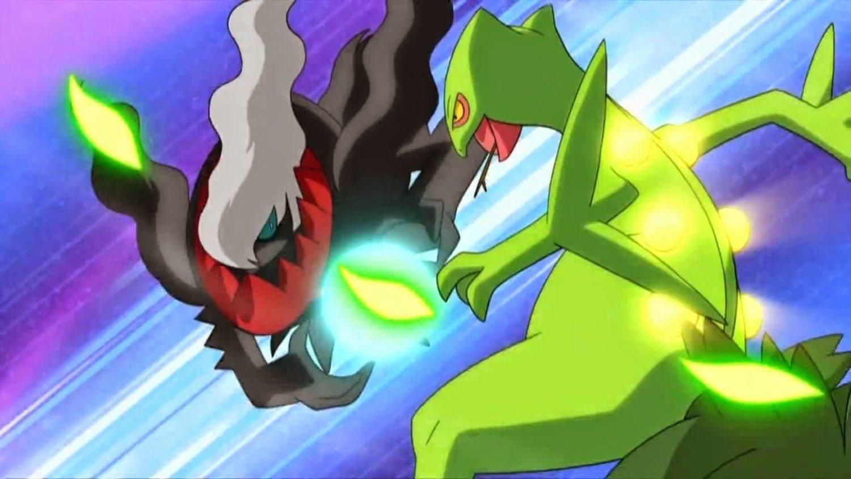 Solo Sceptile pudo batir a Darkrai en toda la Liga de Sinnoh.