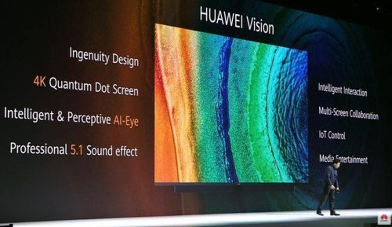 Presentación de la nueva Huawei Vision.