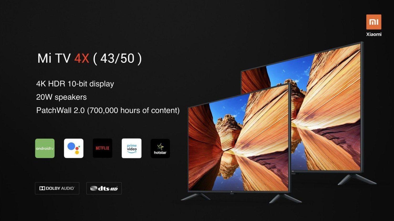 Xiaomi TV 4X, 'una experiencia visual definitiva'.