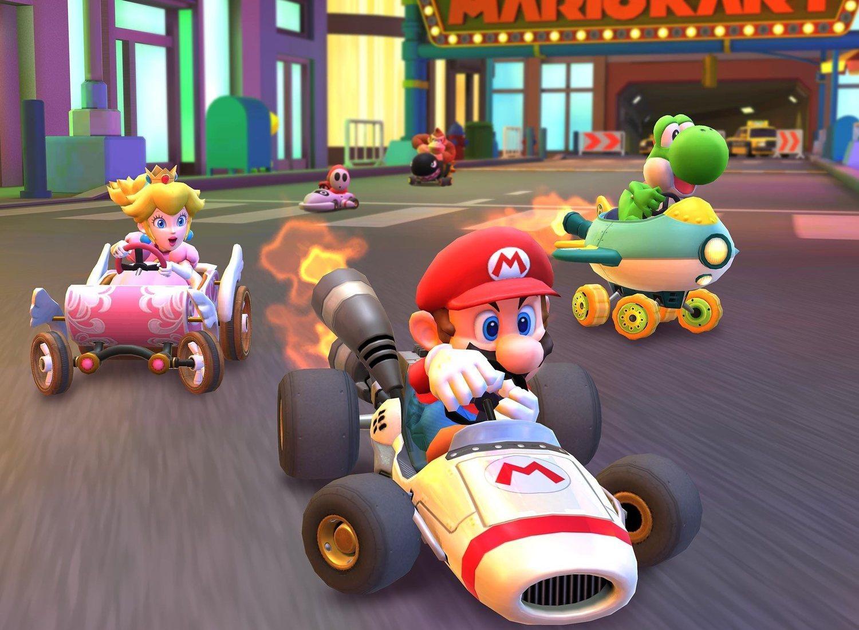 Algunos de los personajes más míticos de la saga Mario Kart.