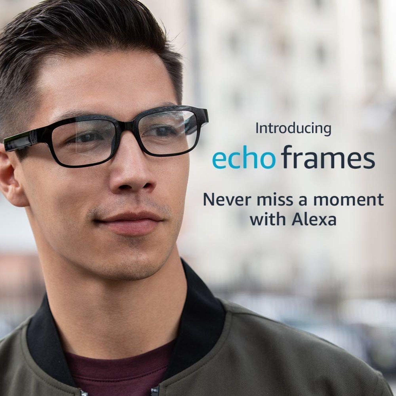 Las Echo Frames de Amazon podrán ir vinculadas con el móvil.