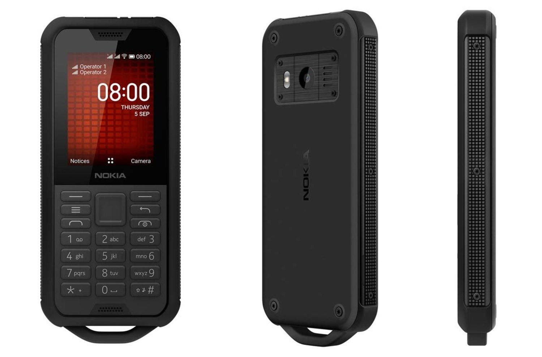 Nokia 800 Tough, un teléfono 'indestructible'.