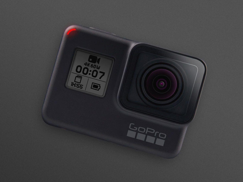 GoPro HERO7 Black es la versión más potente de la nueva gama