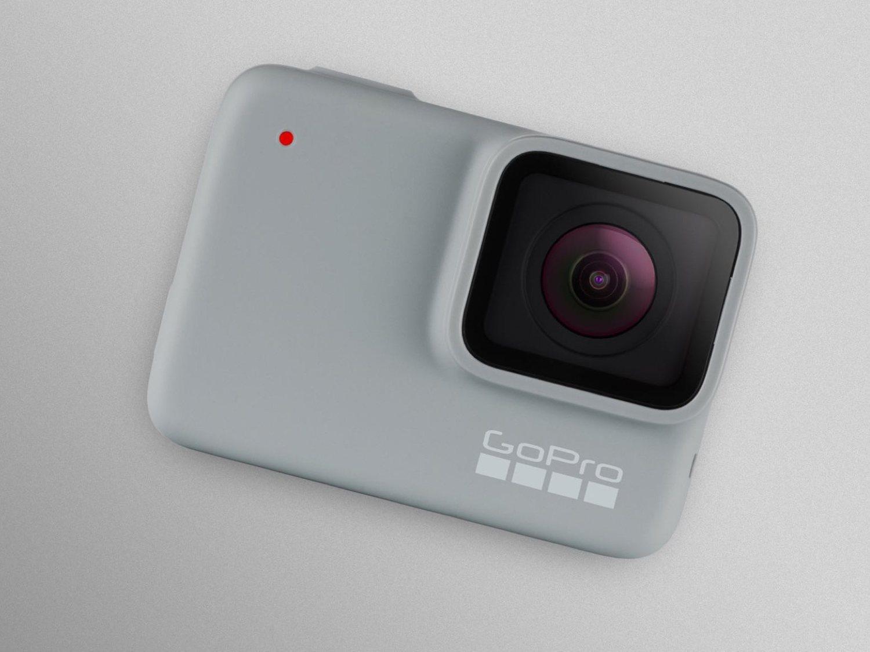 GoPro HERO White es la gama más baja con unas prestaciones más clásicas