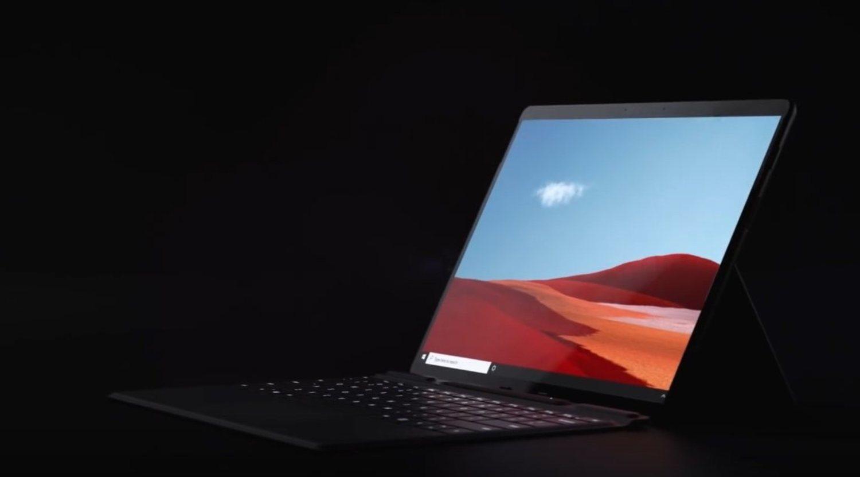 La nueva Surface Pro X cuenta con solo 5,33 mm de grosor.
