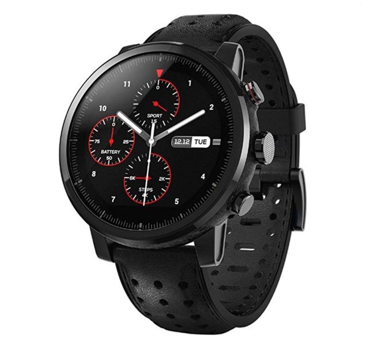 Amazfit Stratos 2, el smartwatch de Xiaomi con puede realizar electrocardiogramas.