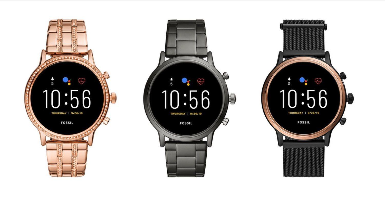 Fossil Gen 5, con el diseño elegante de los relojes tradicionales.