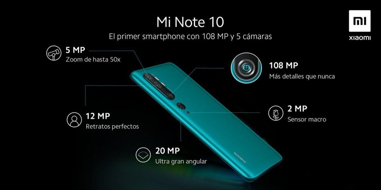 108 megapixeles y 'pentacámara' para el nuevo buque insignia de Xiaomi.