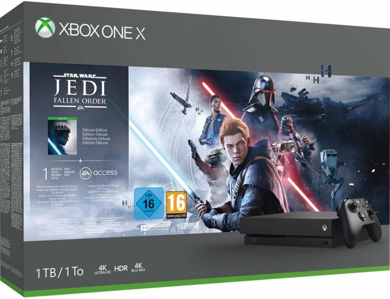 Xbox One con juego de Star Wars, una muy buena combinación.