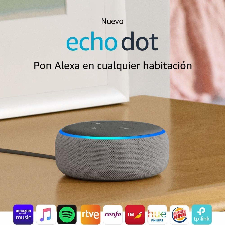 Echo Dot de Amazon, el asistente perfecto para el hogar.