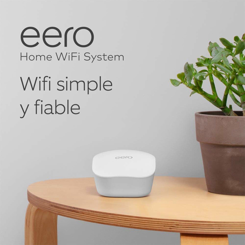 Sistema de WiFI eero, para que la conexión a Internet llegue a todos lados.