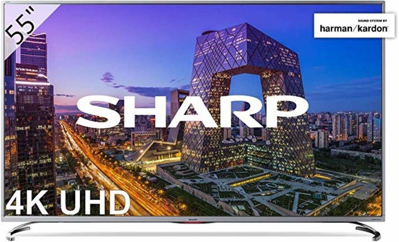 Televisión Sharp 4K UHD, con Active Motion y HDR+.