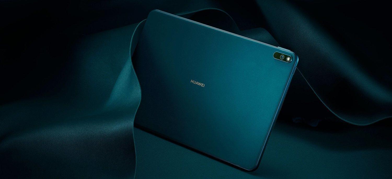 El verde es uno de los colores más llamativos de la Huawei MatePad Pro. A este, se suman el naranja, el blanco y el negro.