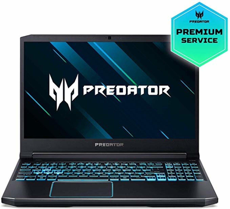 Acer Predator Helios 300, con tarjeta gráfica Nvidia GeForce GTX.