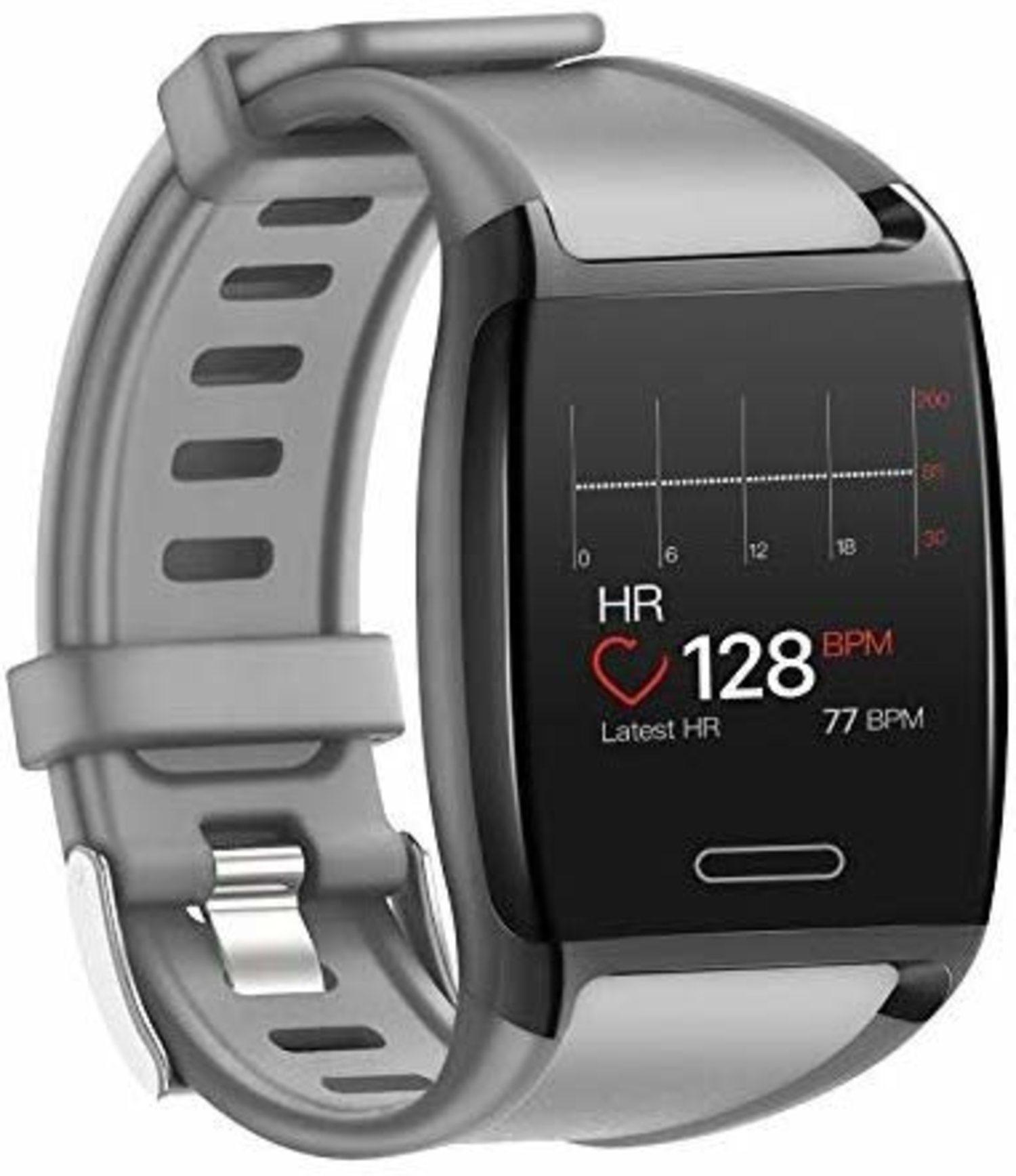 HalfSun Smartwatch, con resistencia IP67 y buen tamaño de pantalla.