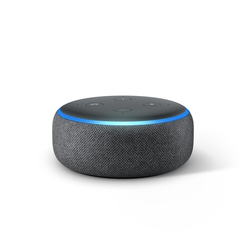 Echo Dot cuenta con un sonido sumamente mejorado y conexión a Bluetooth con otros dispositivos del mismo tipo