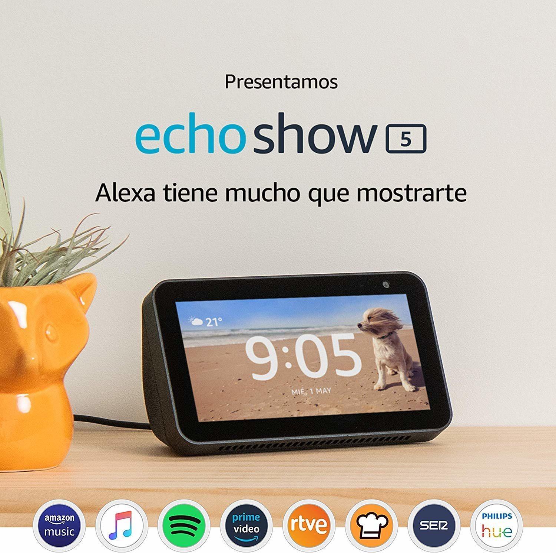 Echo Show 5, una pantalla inteligente con Alexa para poder hacer de todo.