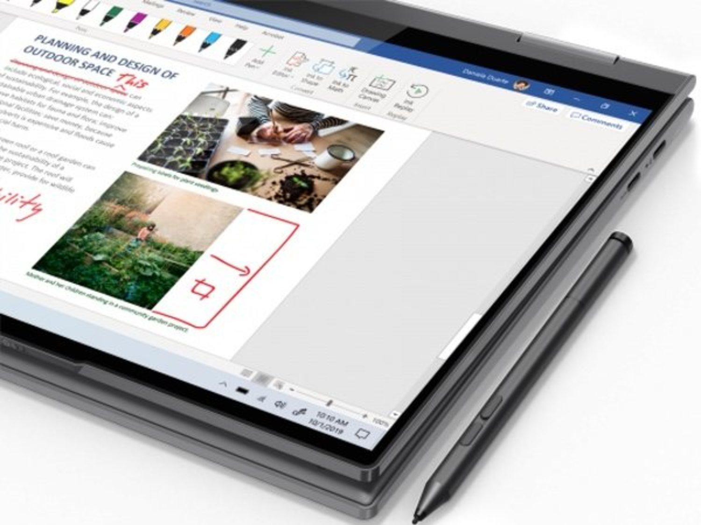 Las posibilidades que ofrece el Lenovo Yoga al ser un 2 en 1 son múltiples.