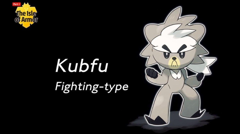 Kubfu, el nuevo Pokémon legendario en La isla de la armadura.
