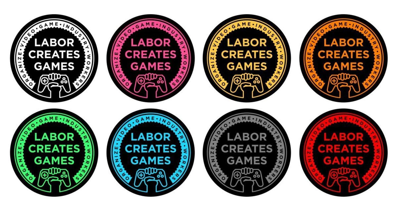 El logo de Game Workers Unite, el primer sindicato del sector en Reino Unido.