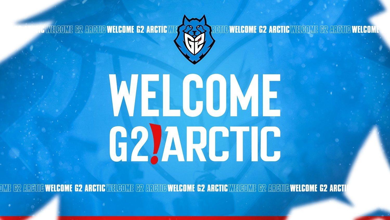 De la fusión de Artic Gaming y G2 nace G2 Artic.