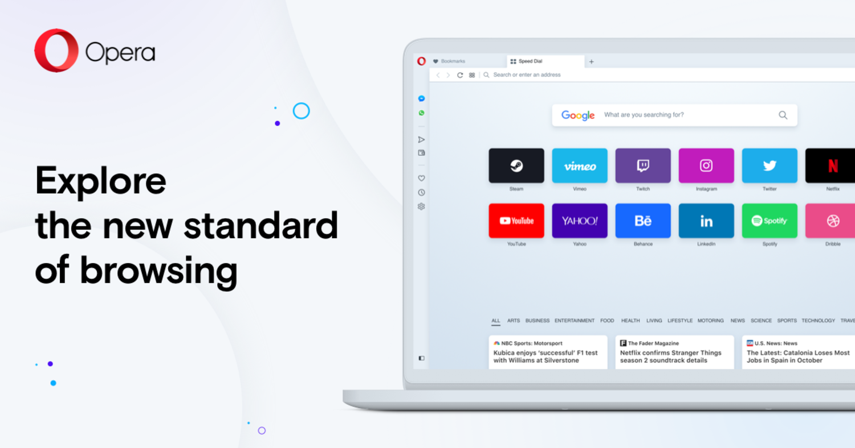 Opera es una de las primeras opciones en las que pensamos al salir de Chrome.