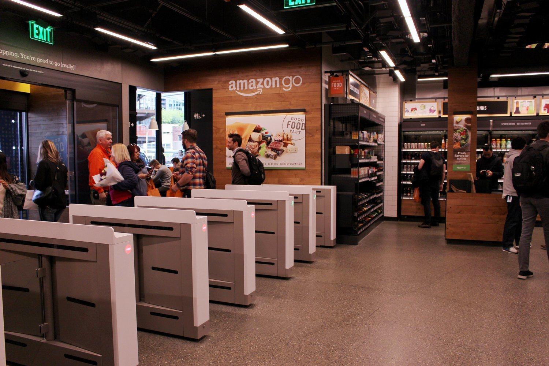 Las tiendas Amazon Go, en las que no tienes que pase por caja para pagar.
