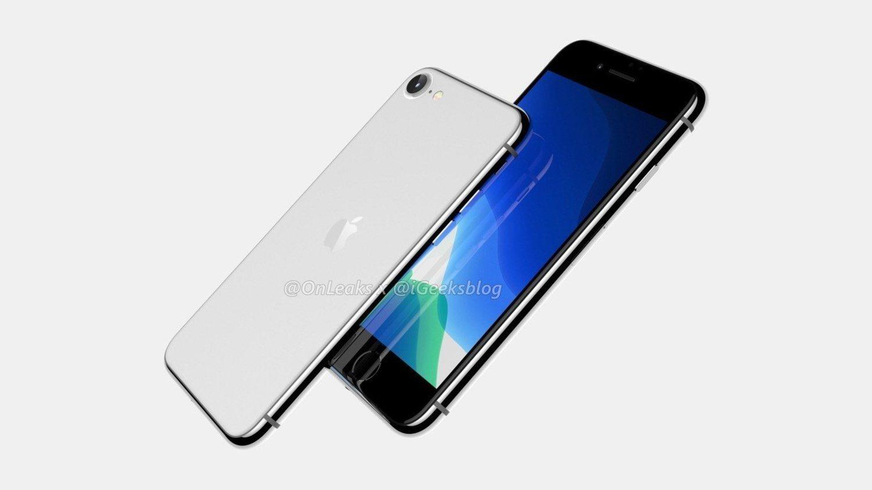Los primeros renders del iPhone SE confirman el regreso al diseño anterior y la presencia de una única cámara.
