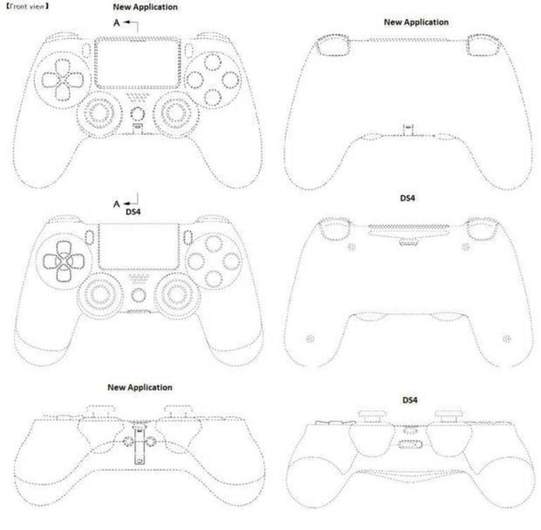La supuesta patente del mando de PlayStation 5 lo compara con su versión anterior y destaca algunas novedades.