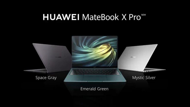 El Huawei MateBook X Pro 2020 llegará en tres colores y un bonito acabado metálico.