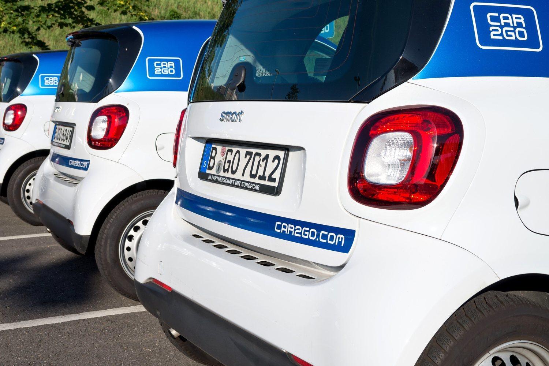 El Car2Go es la empresa de carsharing más común de la capital.