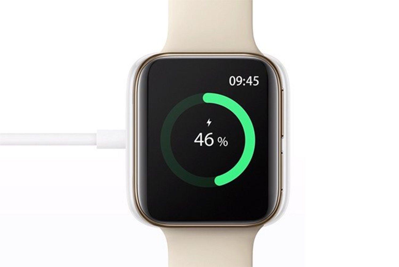 El Oppo Watch tendrá carga rápida y podremos tener el 100% en 75 minutos.