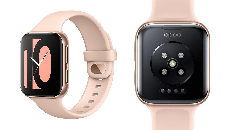 e-SIM, sensor de pulso cardíaco o registro del sueño, son algunas funciones del Oppo Watch.