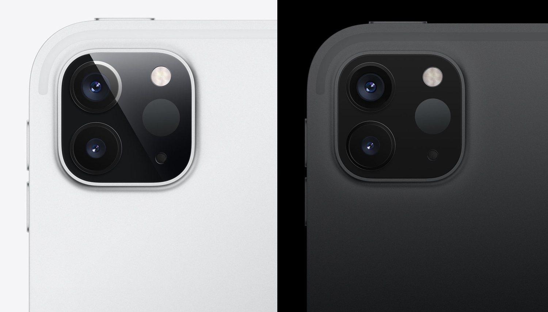 La parte trasera del iPad Pro 2020 deja patente su parecido con el iPhone 11 Pro.