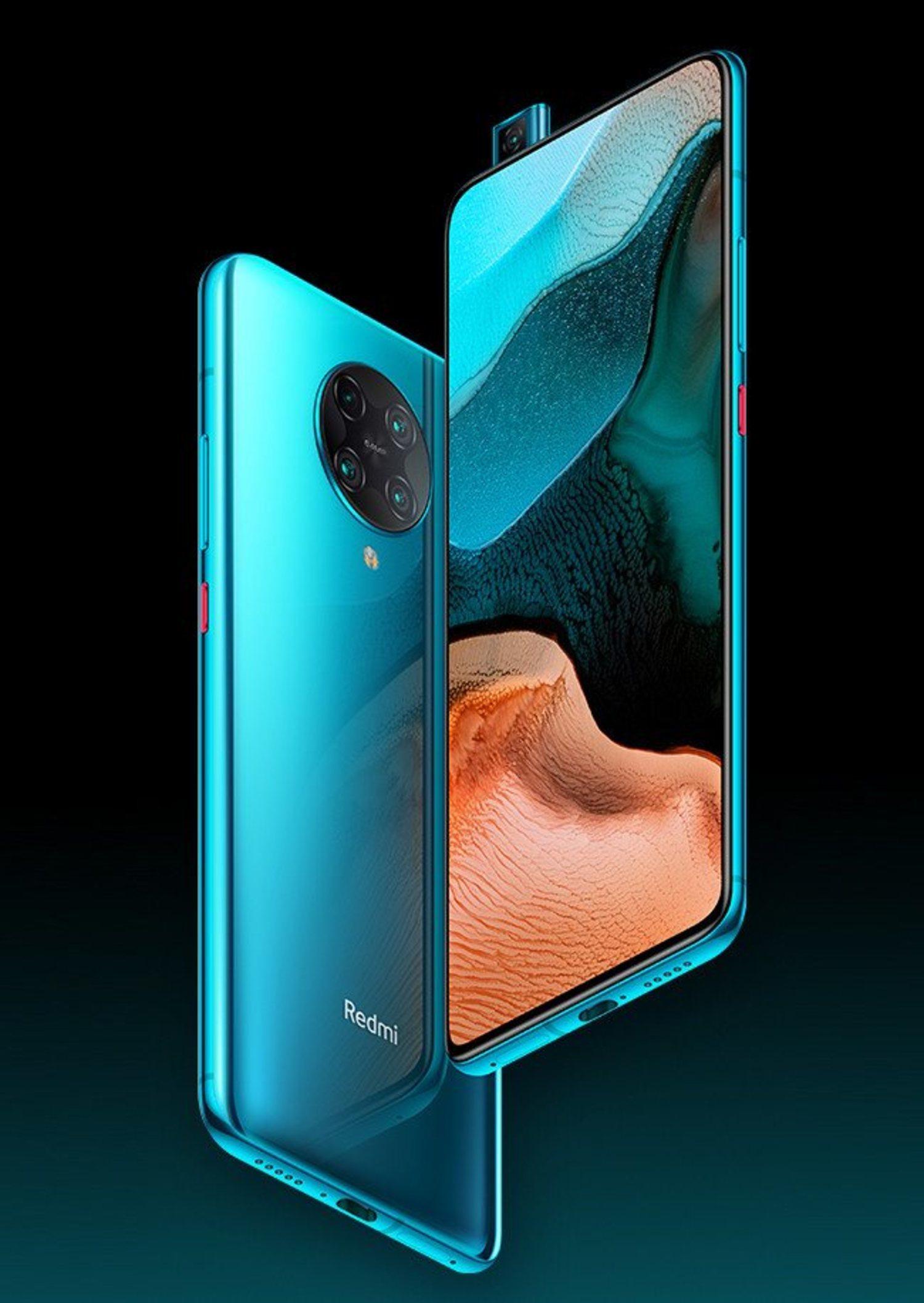 El Remdi K30 Pro y Pro Zoom llevarán el famoso sistema pop-up para la cámara frontal, dejando el protagonismo para su pantalla de 6,67 pulgadas.