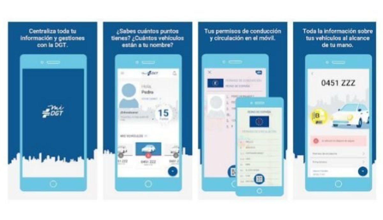 La aplicación de la DGT para llevar tu carnet de conducir y los papeles a todas partes está sufriendo un gran número de descargas.