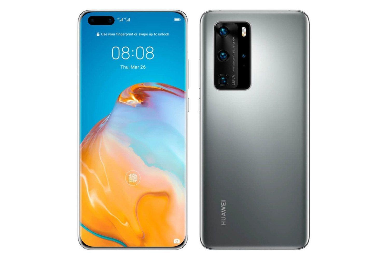 Así será la nueva gama P40 de Huawei en su aspecto exterior.