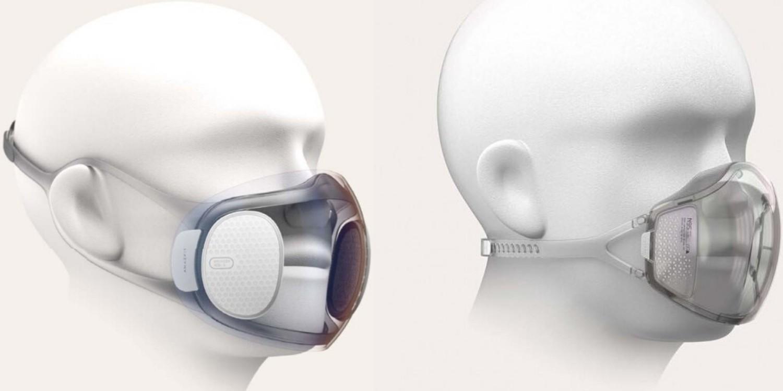 Así son los modelos X e Y de las mascarillas Xiaomi.
