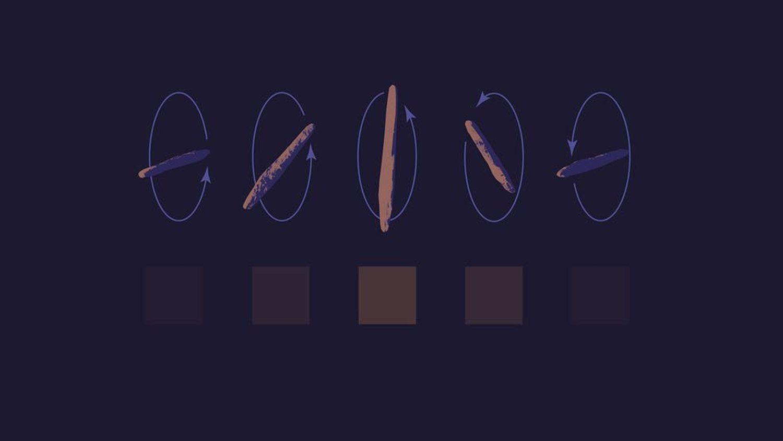 Movimiento que realiza el misterioso objeto interestelar 'Oumuamua'.