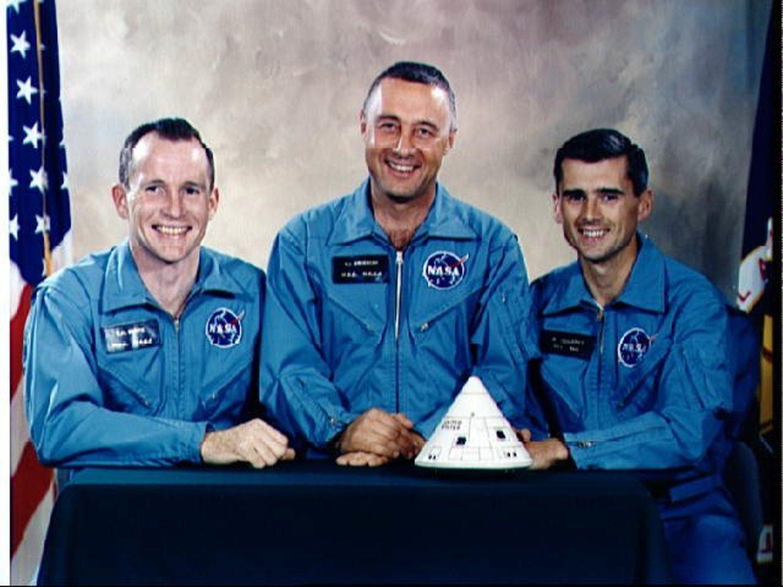Tripulación del 'Apolo 1'