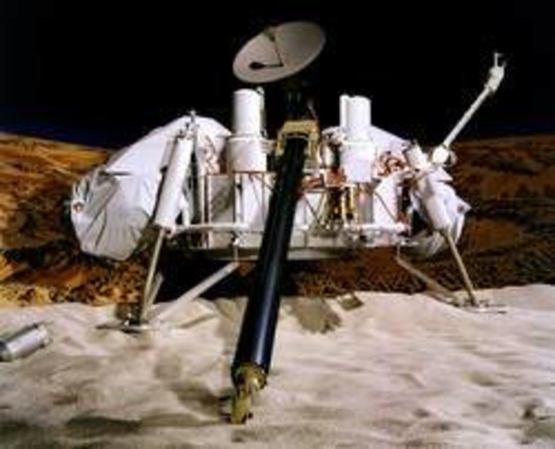 El robot explorador 'Viking 1'