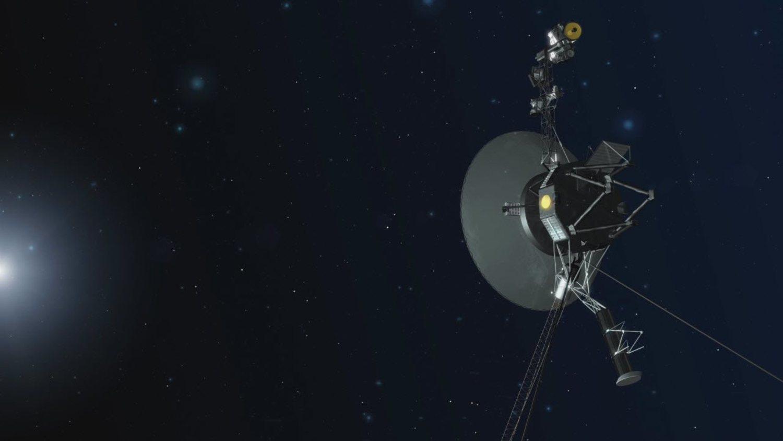 Recreación de 'Voyager 1'