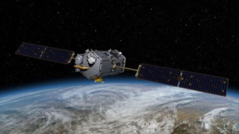 El satélite 'Orbiting Carbon Observatory'.